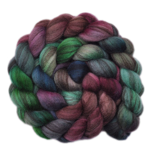 BFL Humbug Wool Roving - Disquiet - 4.0 ounces
