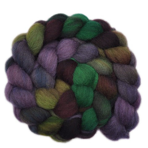 Gray Shetland Wool Roving - Grassroots Movement 1 - 4.1 ounces
