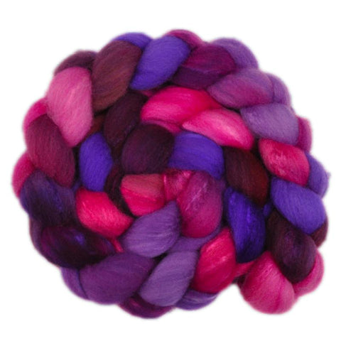 Silk / Shetland 30/70% Wool Roving - Dreaming Princess 2 - 4.1 ounces
