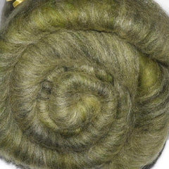 Fiber batt for spinning and felting