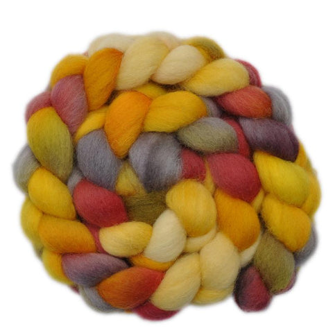 Cheviot Wool Roving - Big Laugh 2 - 3.8 ounces
