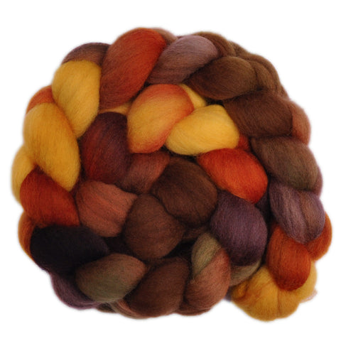 Corriedale Cross Wool Roving - Old Barn 2 - 4.3 ounces