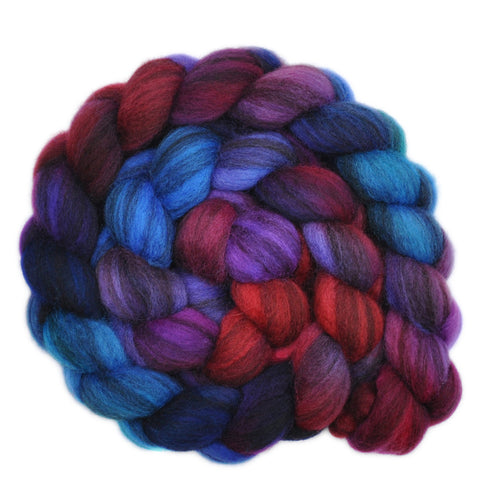 BFL Humbug Wool Roving - Eloquent Murmurs 1 - 4.2 ounces