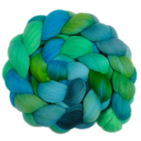 Polwarth Wool Roving - Persistant Growth 1 - 4.1 ounces