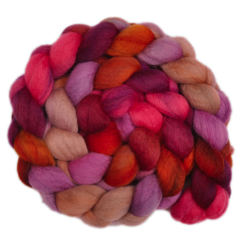 BFL Wool Roving - Hasty Decision 2 - 4.2 ounces
