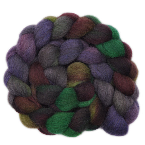 Gray Shetland Wool Roving - Grassroots Movement 2 - 3.9 ounces