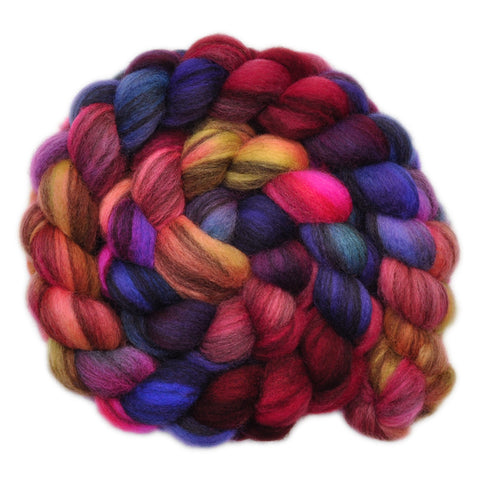 BFL Humbug Wool Roving - Cravings - 4.0 ounces