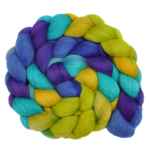 BFL Wool Roving - Summer Smile 1 - 4.0 ounces