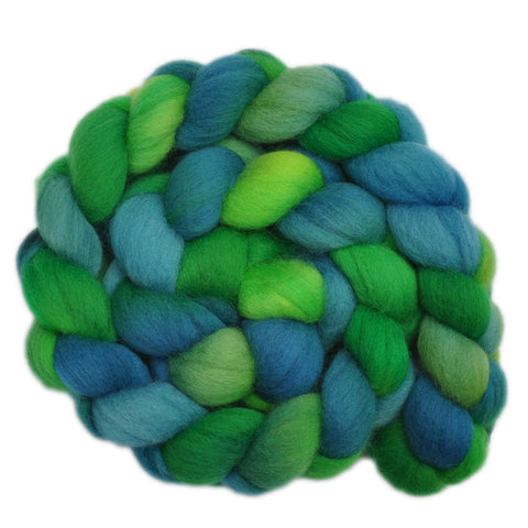 Falkland Wool Roving - Frogs & Toads 2 - 4.1 ounces