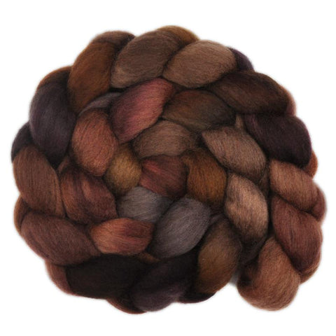 South American Wool Roving - Grizzly Bear 2 - 4.0 ounces