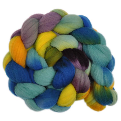 Rambouillet Wool Roving - Wandering 2 - 4.1 ounces