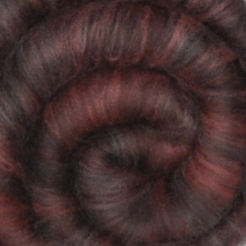 Spinning fiber batt, mixed fibers - Antique Chair - 1.8 ounces