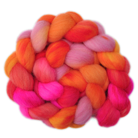 Corriedale Cross Wool Roving - Bundle of Joy 2 - 4.0 ounces