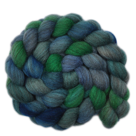 Oatmeal BFL Wool Roving - Join in Song 2 - 4.0 ounces