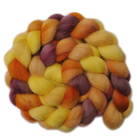 BFL Wool Roving - Free as a Bird - 4.0 ounces