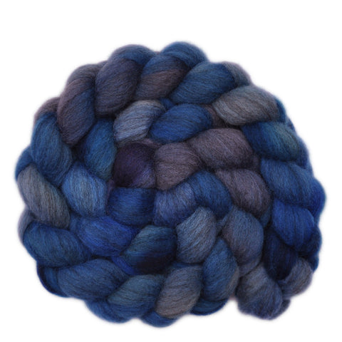 Oatmeal BFL Wool Roving - Thunderstorm 1 - 3.9 ounces