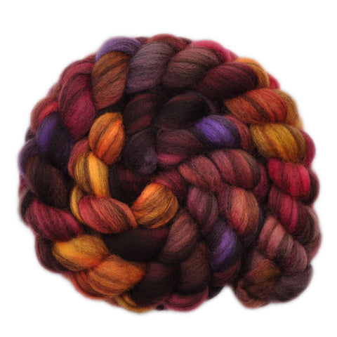 BFL Humbug Wool Roving - Shipwright - 4.1 ounces