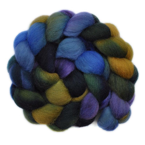 Corriedale Cross Wool Roving - Gone Astray 1 - 4.1 ounces