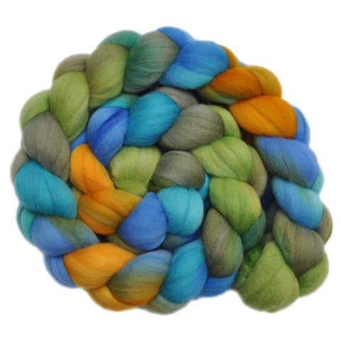 Merino Wool Roving, 19 micron - California Highway 2 - 4.2 ounces
