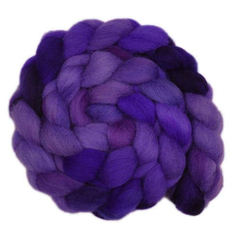 Finn Wool Roving - African Violet 2 - 4.1 ounces