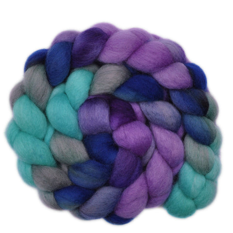 BFL Wool Roving - Fanfare - 4.2 ounces