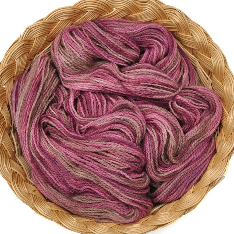 Hand Dyed Peruvian Highland wool yarn, fingering weight