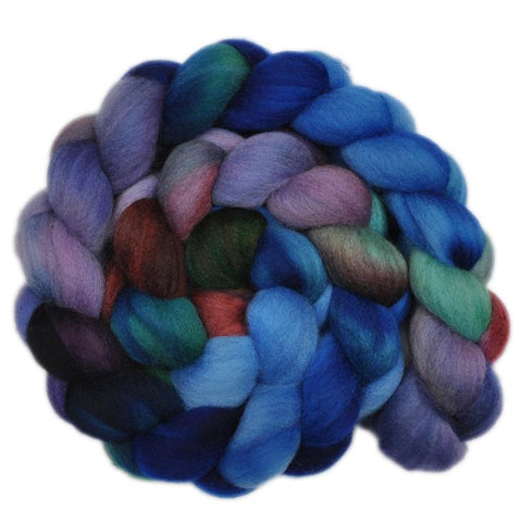 Polwarth Wool Roving - Hippo's Haunt 2 - 4.0 ounces