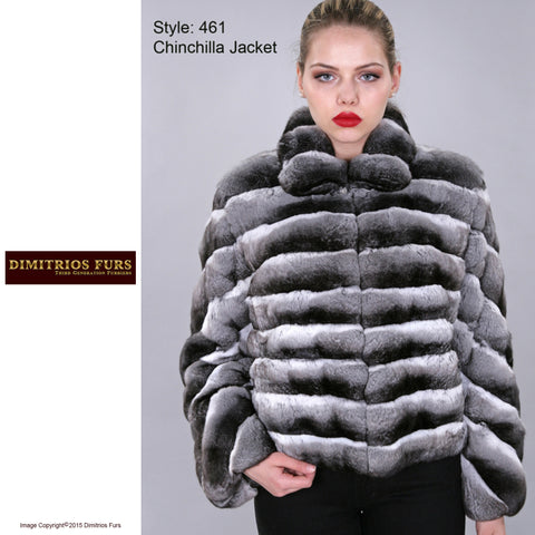 Custom Fur - Chinchilla Jacket