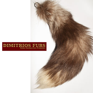 Fur Tail Key Chains/FOBs