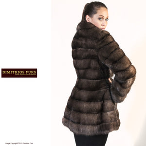 Fur Coat - Horizontal Russian Sable