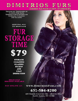 Storage-Cleaning-Disinfect  Packages for 3 or More Fur Coats