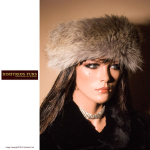 Fur Headband - Coyote Fur Headband