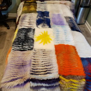 Fox Blanket  one of a kind