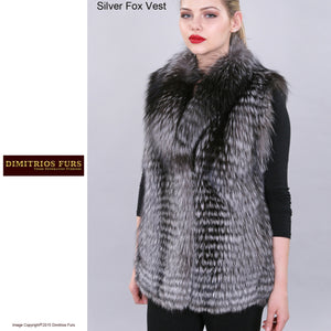 Custom Fur - Silver Fox Vest