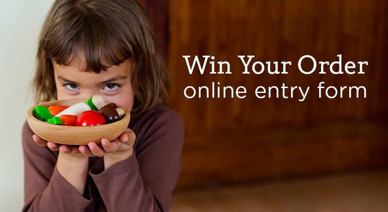 Win Your Order Online Entry Form