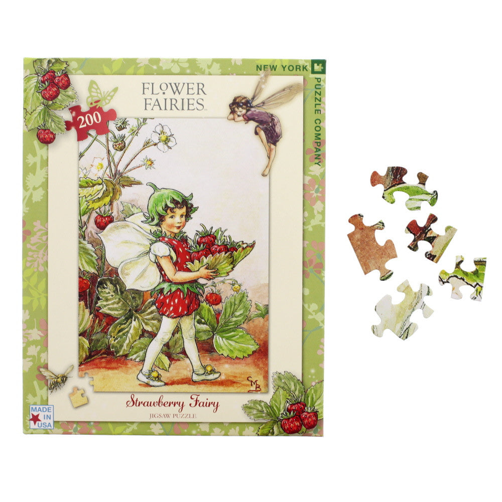 strawberry fairy puzzle - nova natural toys & crafts