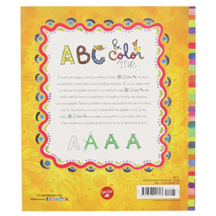 abc & color me handlettering for kids