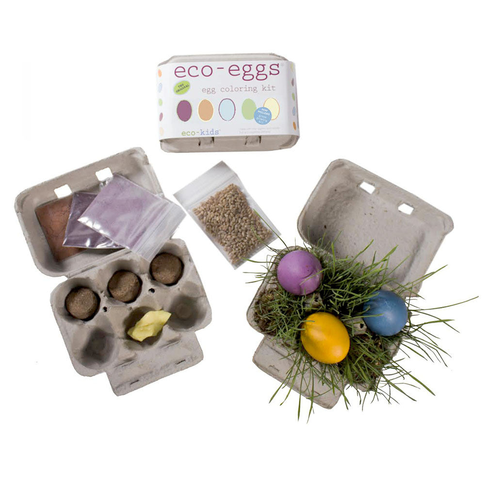 eco-egg dying and grass kit - nova natural toys & crafts