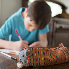 kitty cat pencil case