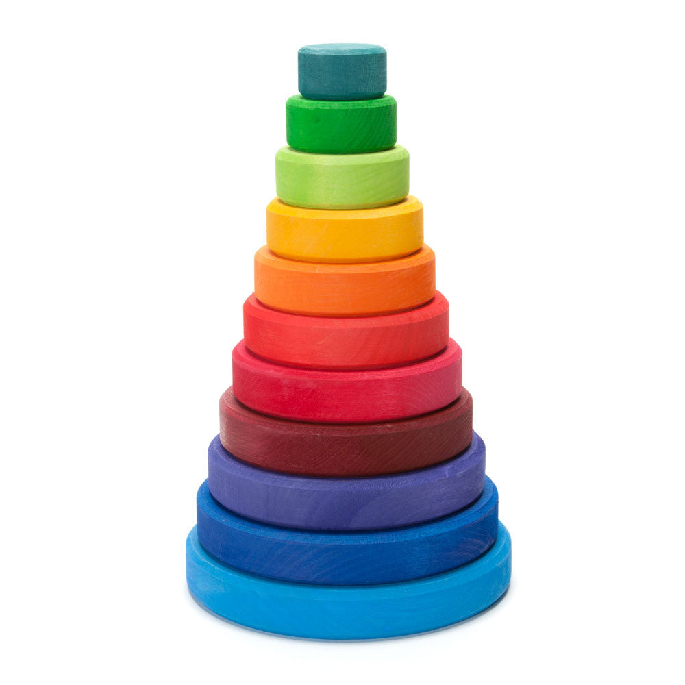 rainbow stacker - Nova Natural Toys & Crafts - 1