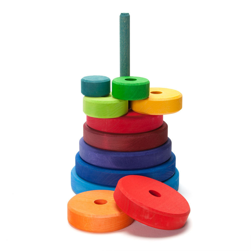 rainbow stacker - Nova Natural Toys & Crafts - 2