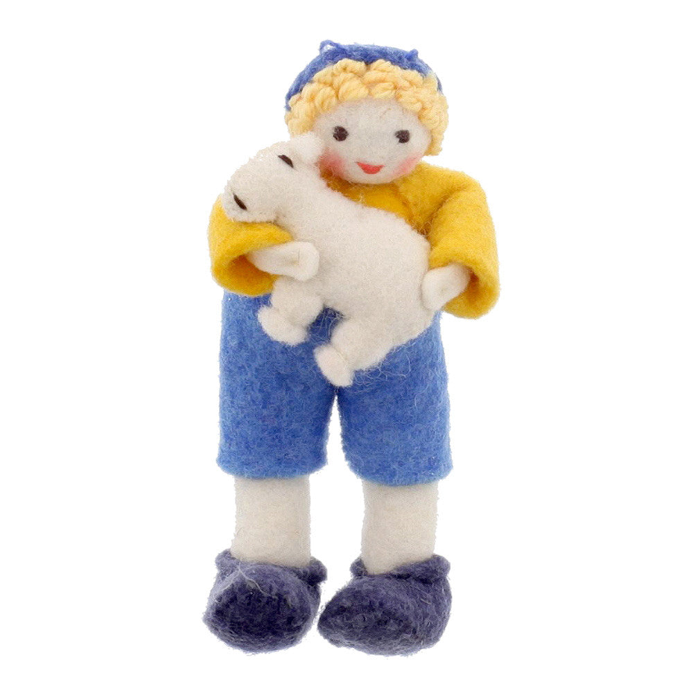 pelle & his lamb - nova natural toys & crafts