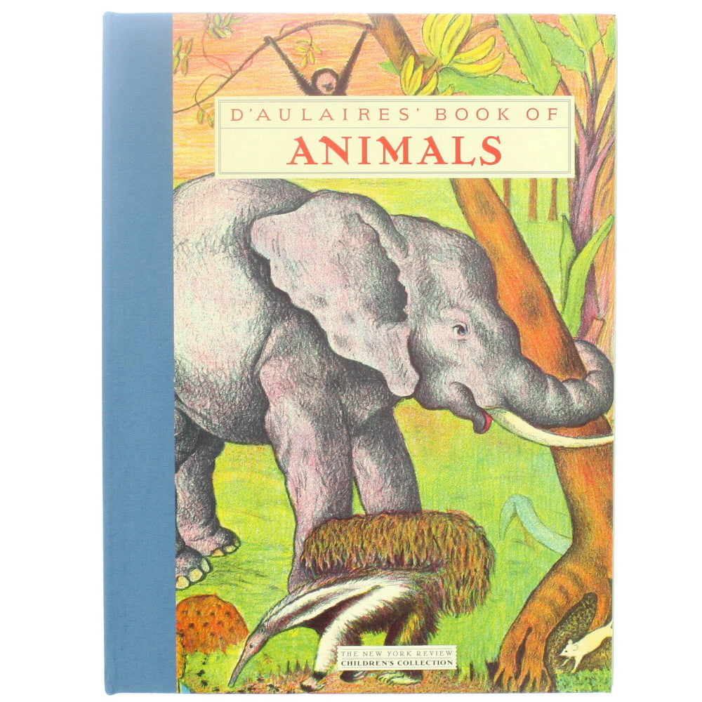 d'aulaire's book of animals - front - nova natural toys & crafts