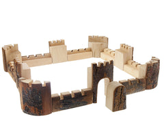 castle wall blocks- 16 pieces
