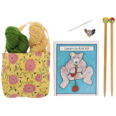 beginning knitter's kit