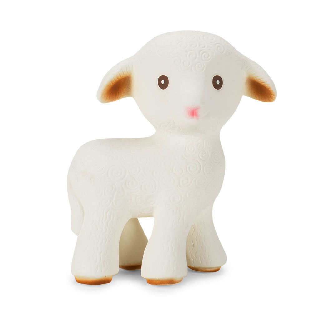natural rubber teething lamb - Nova Natural Toys & Crafts - 2