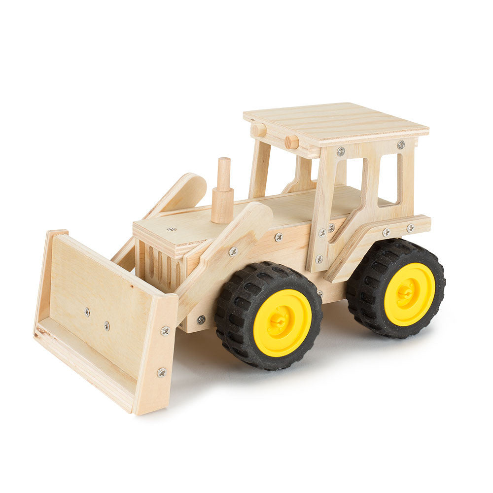 build your own bulldozer - Nova Natural Toys & Crafts