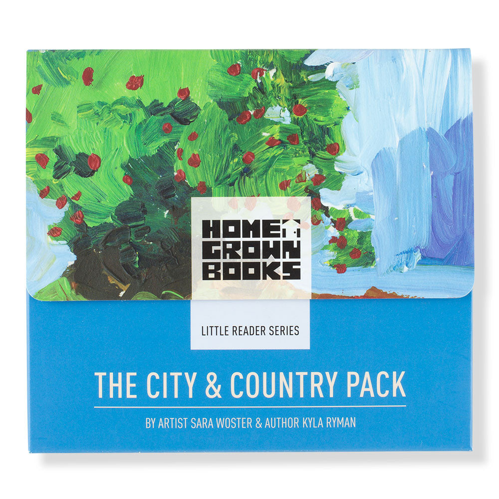 early reader city & country pack - Nova Natural Toys & Crafts - 1