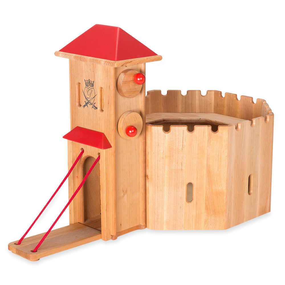 Castle Stronghold- nova natural toys & crafts