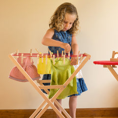 drying rack & pegs - lifestyle - nova natural toys & crafts